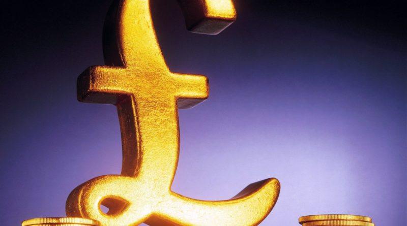 фунт стерлингов золото
